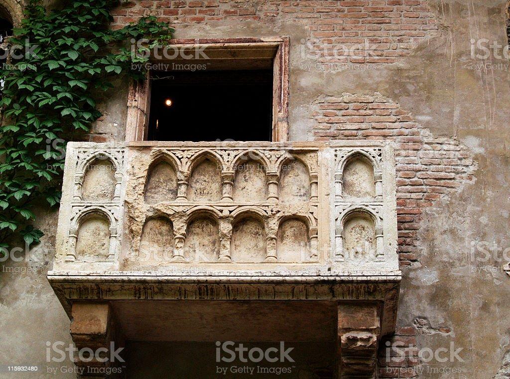 Balkon Von Romeo Und Julia Verona Stock Fotografie Und Mehr Bilder