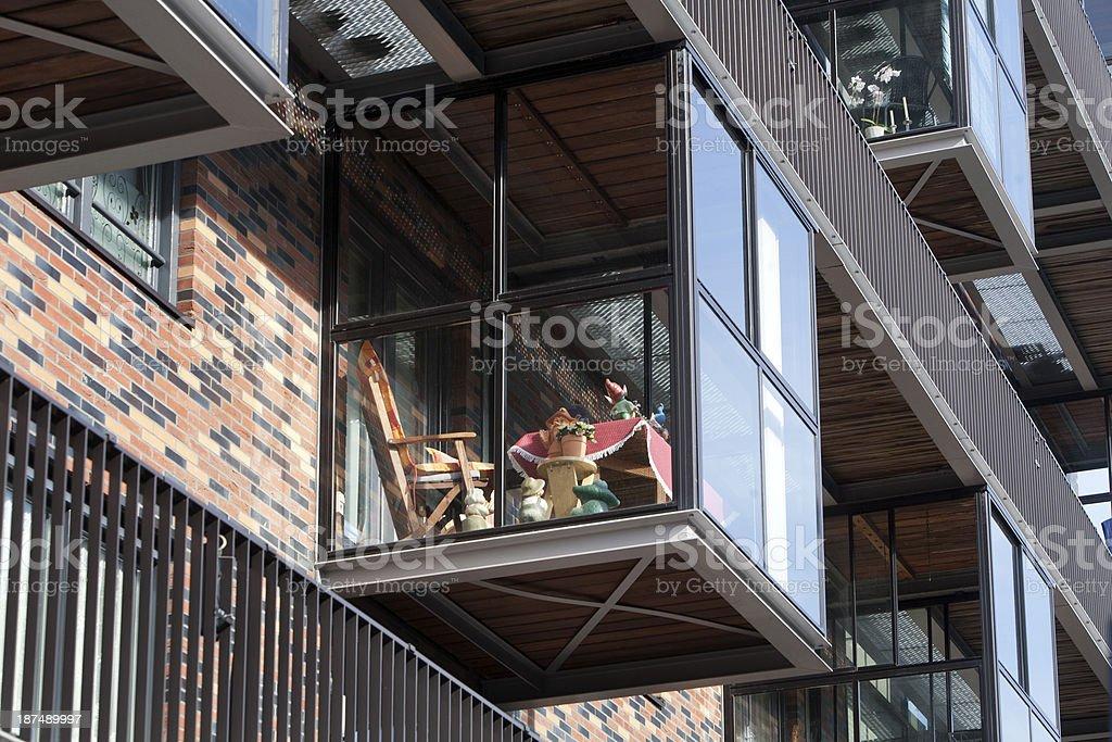 Balcony on a conservatory foto