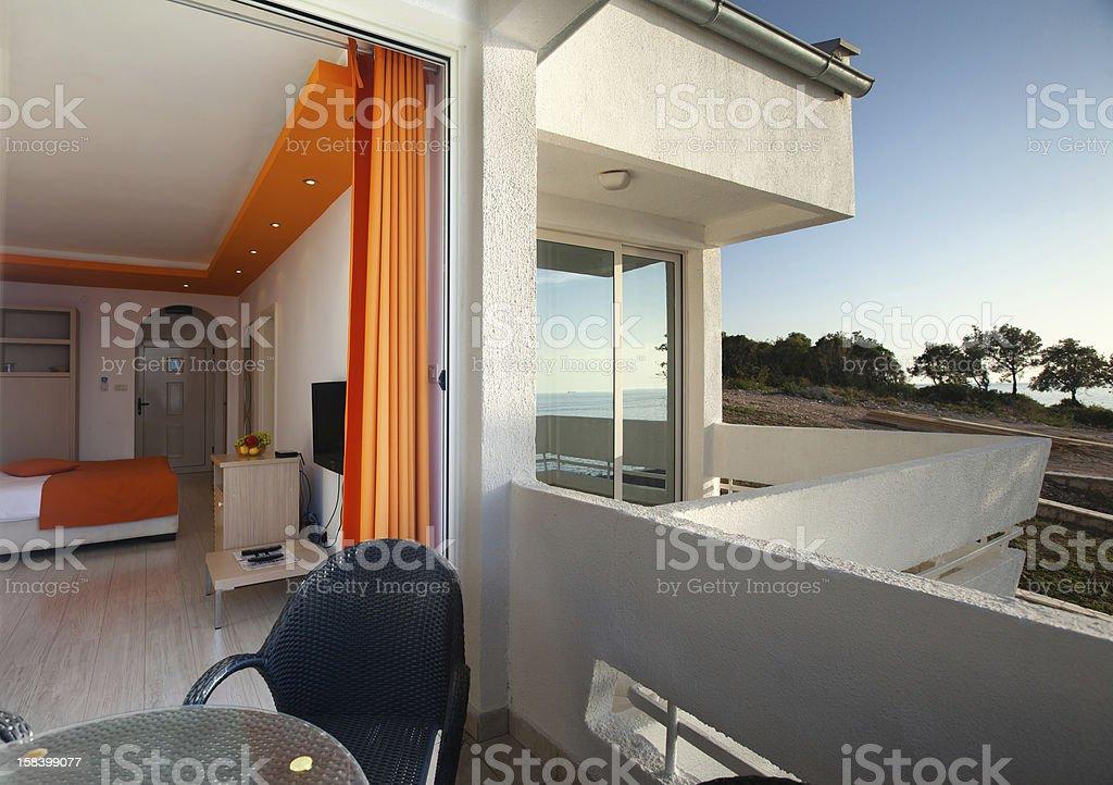 balcony royalty-free stock photo
