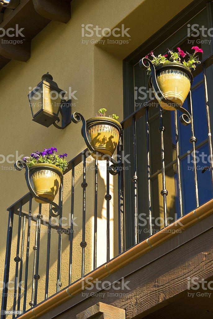 Balcone foto stock royalty-free
