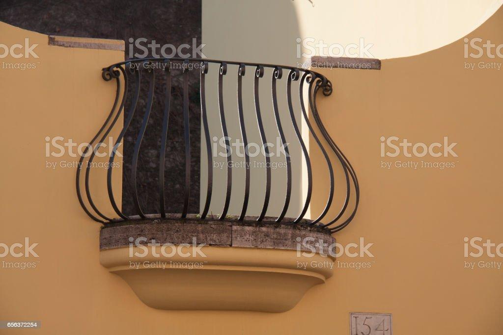 Balcony, Rome стоковое фото