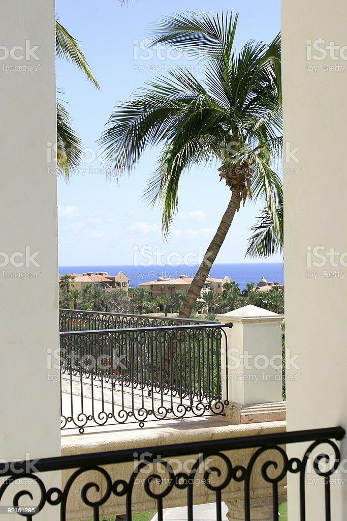 Balcony View royalty-free stock photo