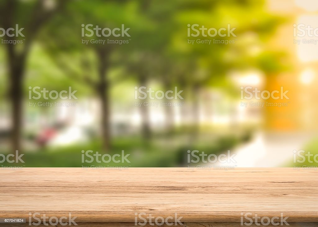balcony with greenery background stock photo