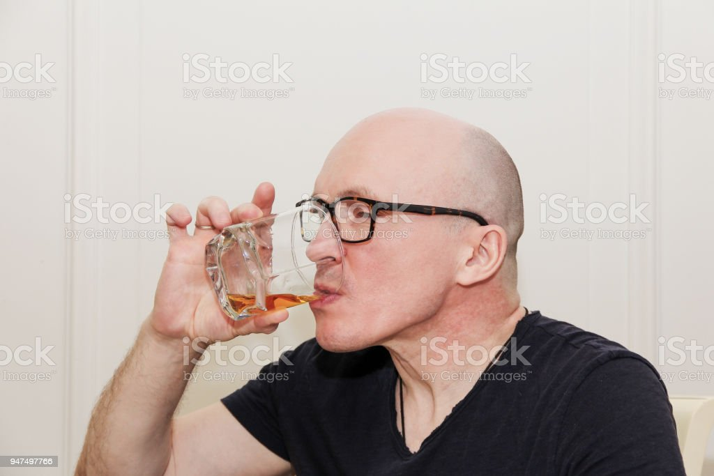 bald adult man