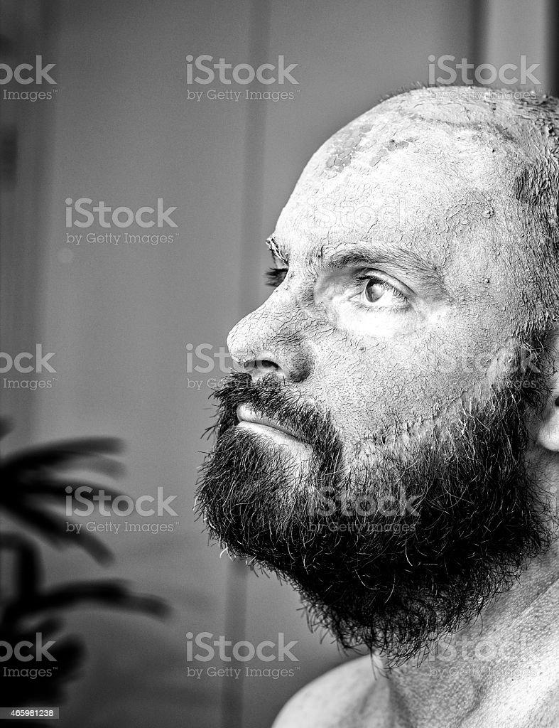 recherche homme barbu)