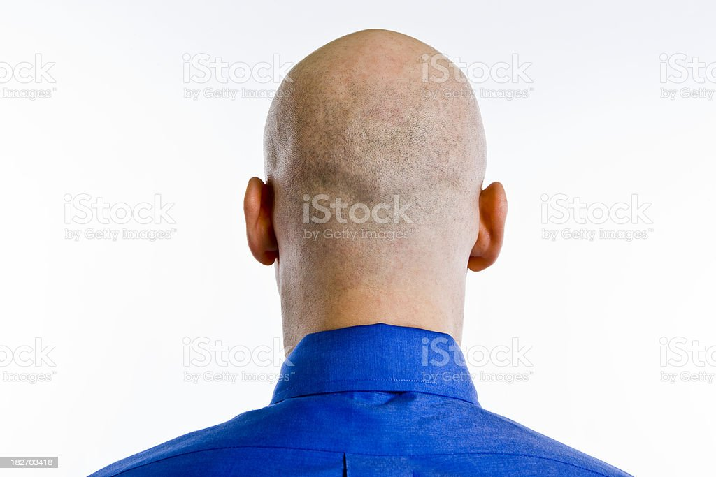 Bald Head stock photo