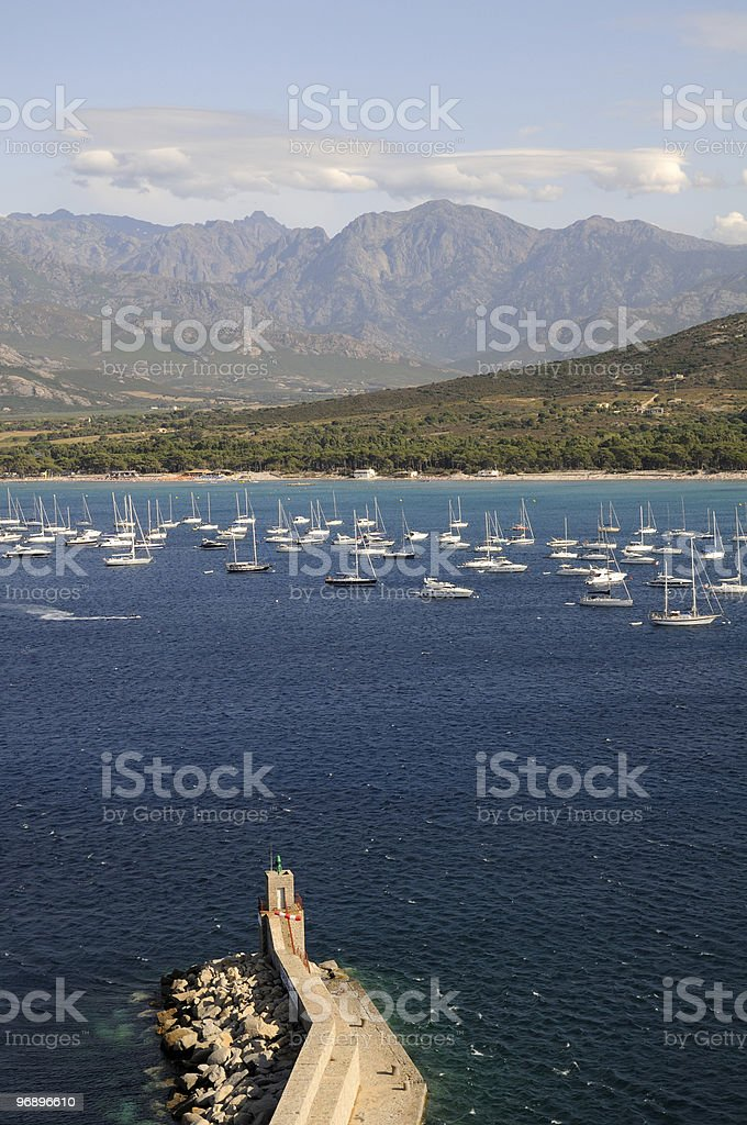 Calvi royalty-free stock photo