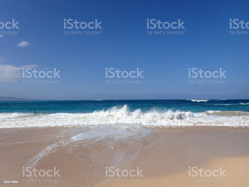 Baldwin Beach Beach stock photo