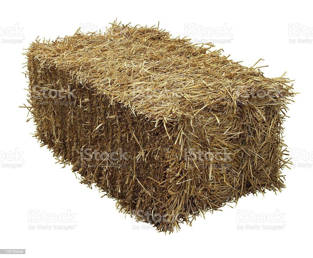 Bale Of Hay stock photo