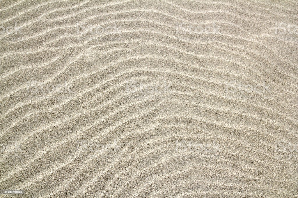balearic islands wavy sand waves pattern stock photo