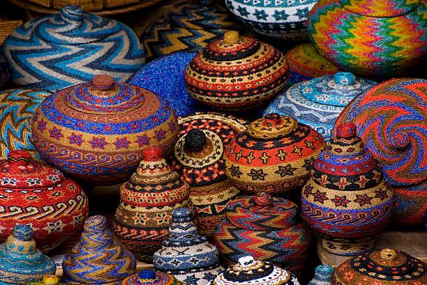 Bali Art Market stock photo