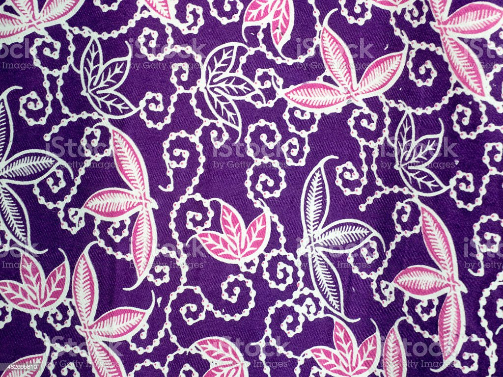 bali batik pattern stock photo