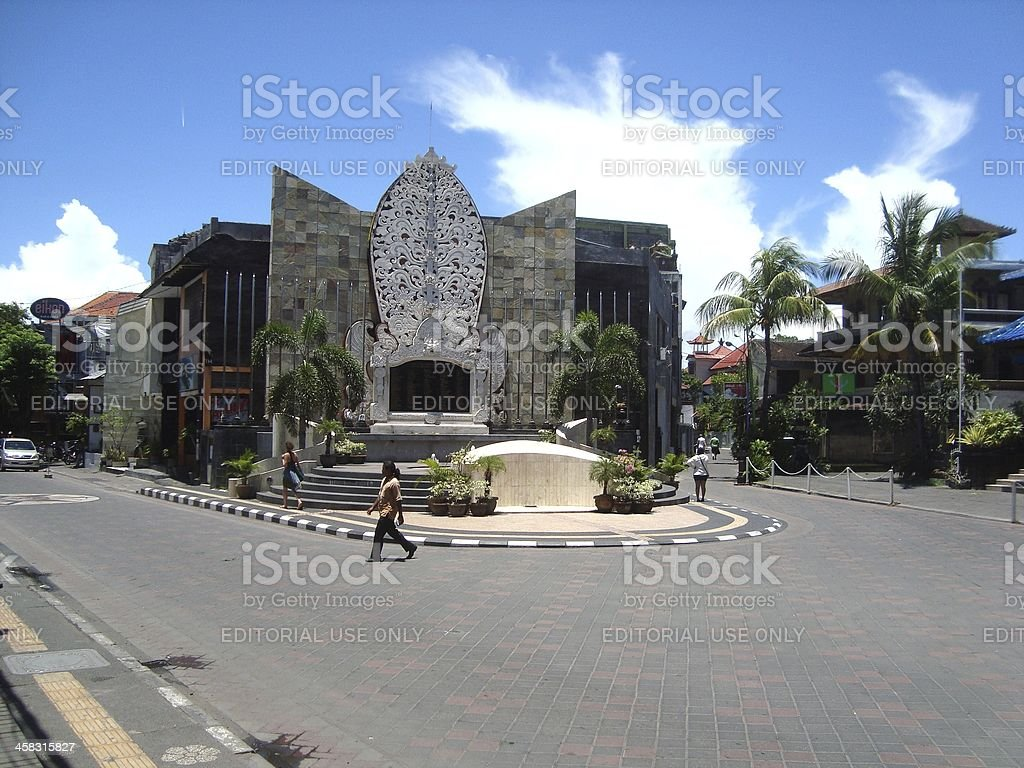 Bali bombing memorial, Kuta - Indonesia royalty-free stock photo