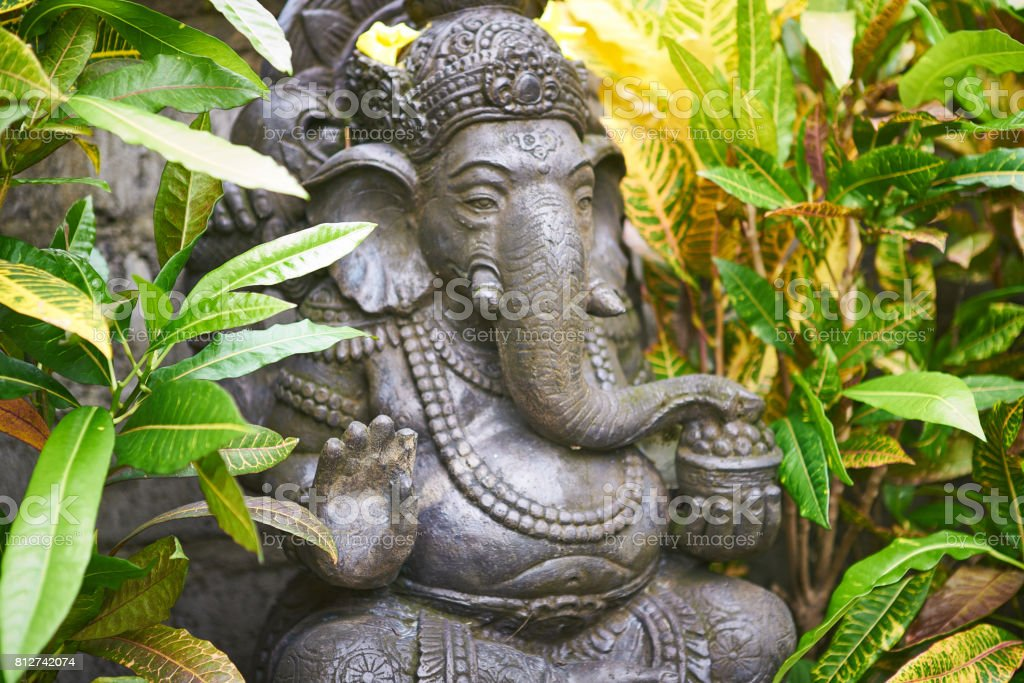 Bali God Ganesha stock photo