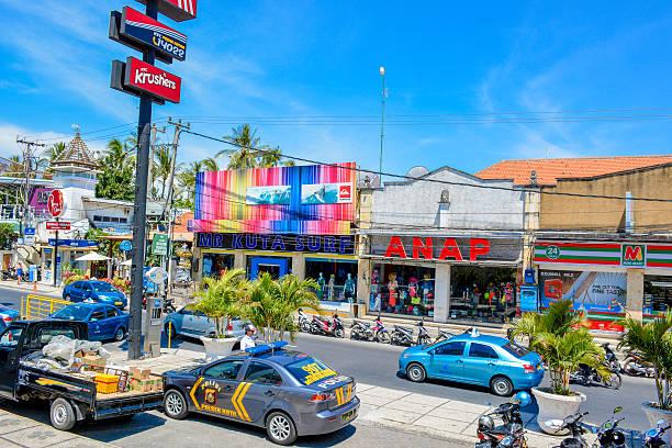 Bali Kuta-Stadt – Foto