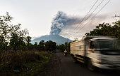 Bali Mt. Agung volcano eruption