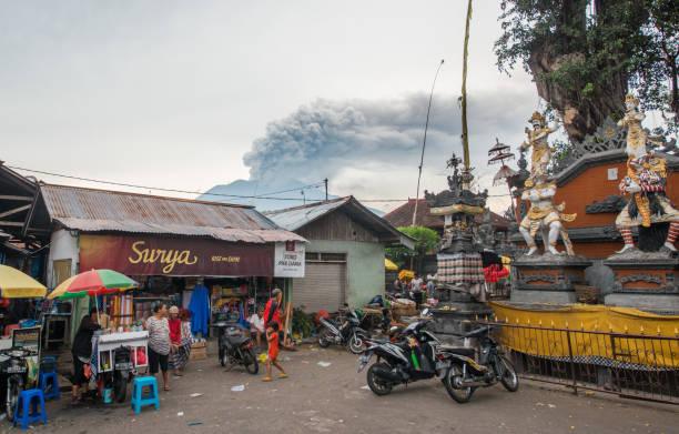 Bali Mt. Agung Vulkanausbruch – Foto
