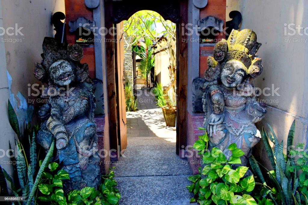 bali stone image royalty-free stock photo