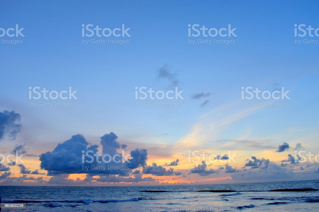 bali sunset royalty-free stock photo