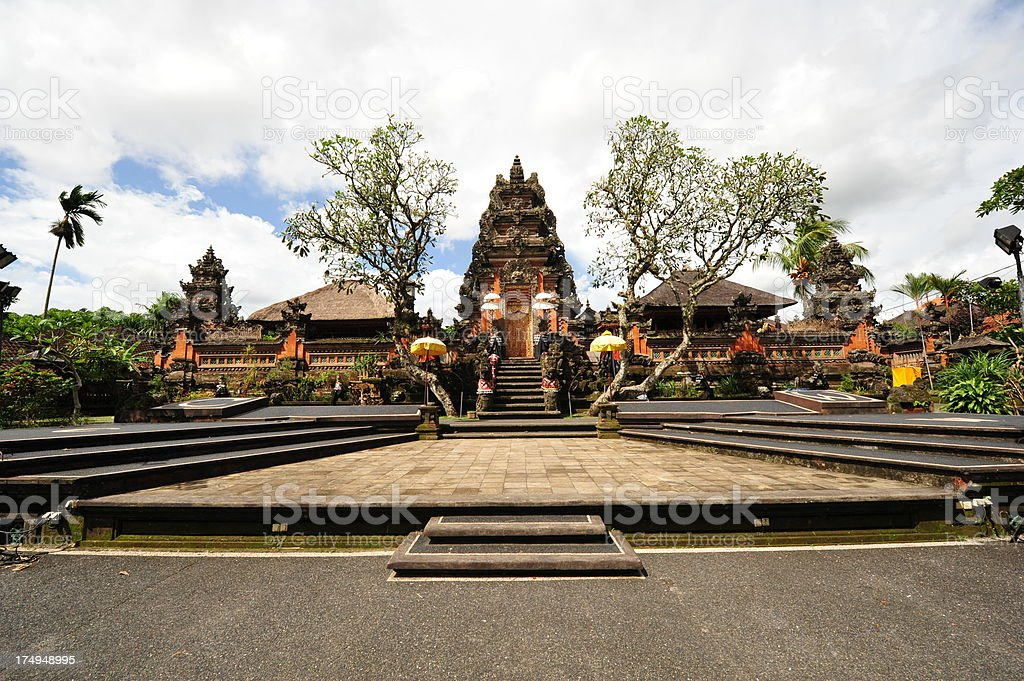 Bali Temple royalty-free stock photo