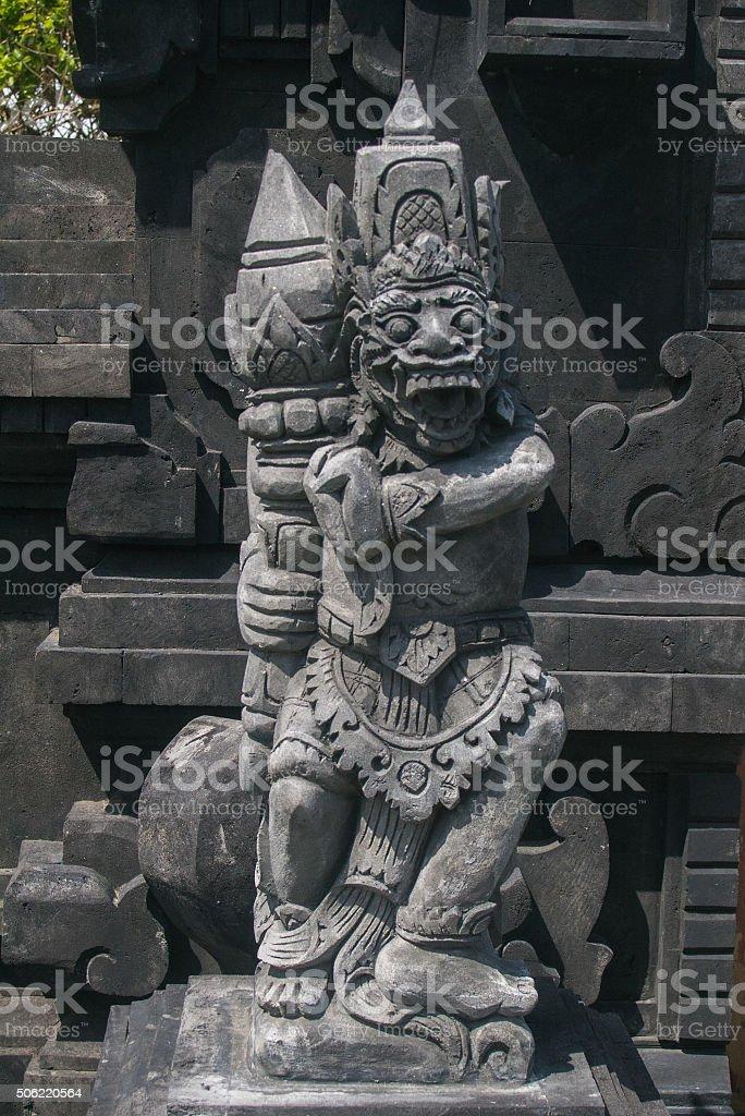 Bali Temple Statues 15 stock photo
