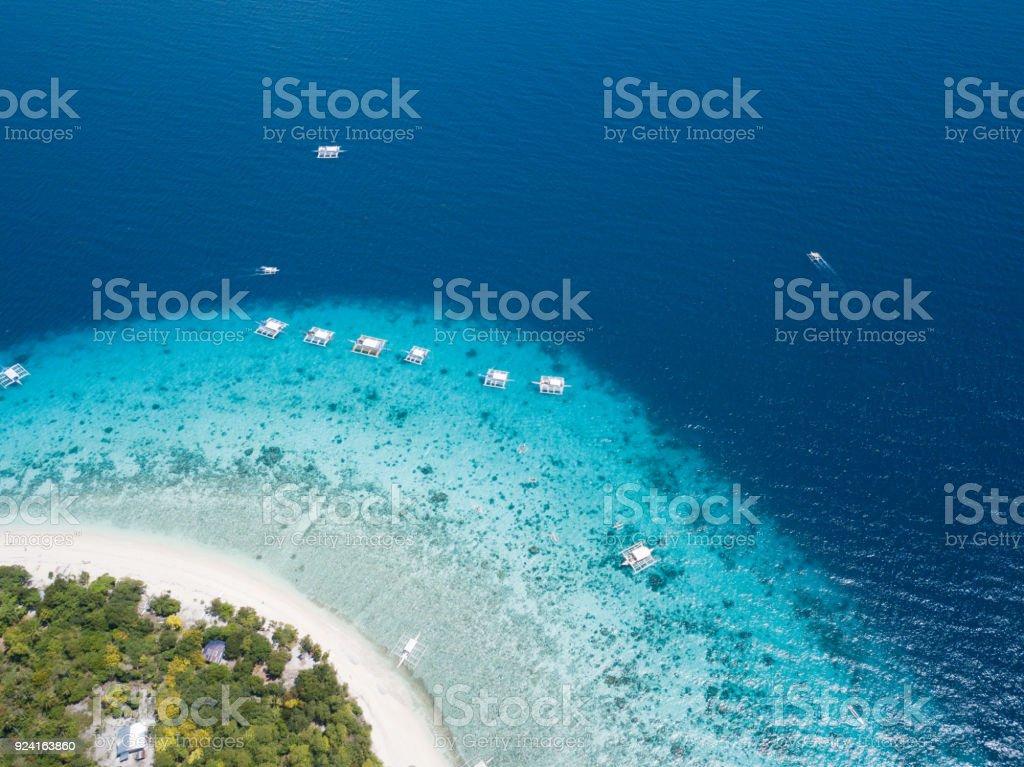 Balicasag Island stock photo