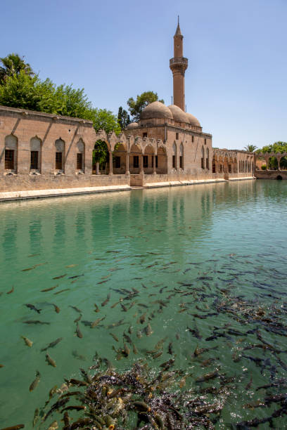Balikligol, Halilurrahman Mosque Sanliurfa, Turkey stock photo