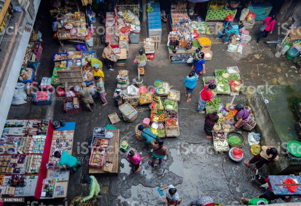 Balinese Market stock photo