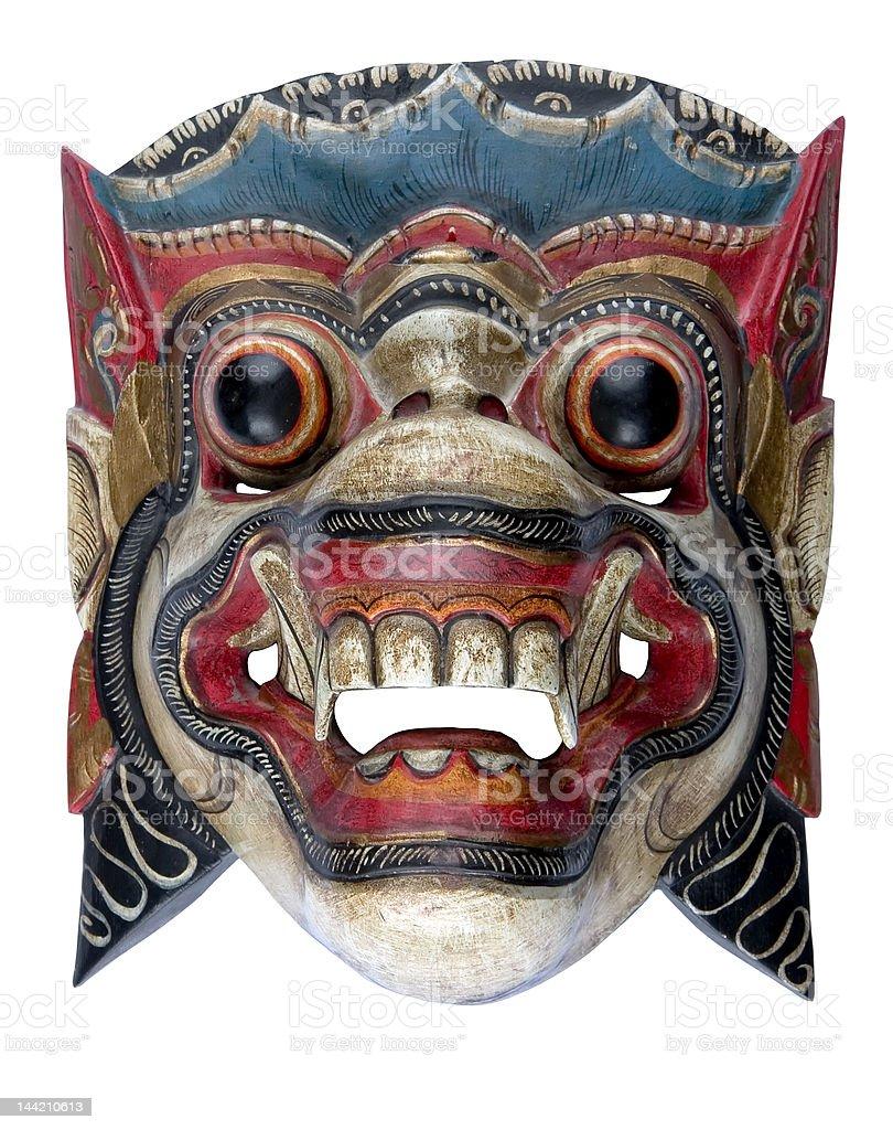 Balinese mask stock photo