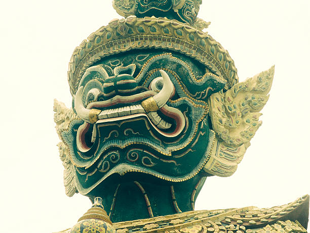 balinese mask - demoniac stock pictures, royalty-free photos & images