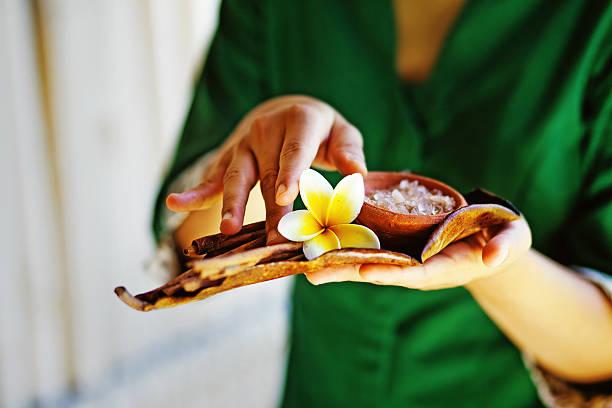 Balinesische Massagen und spa-Behandlung Zutaten – Foto