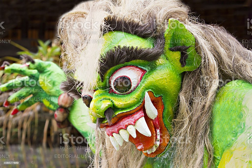 Balinese New Year stock photo