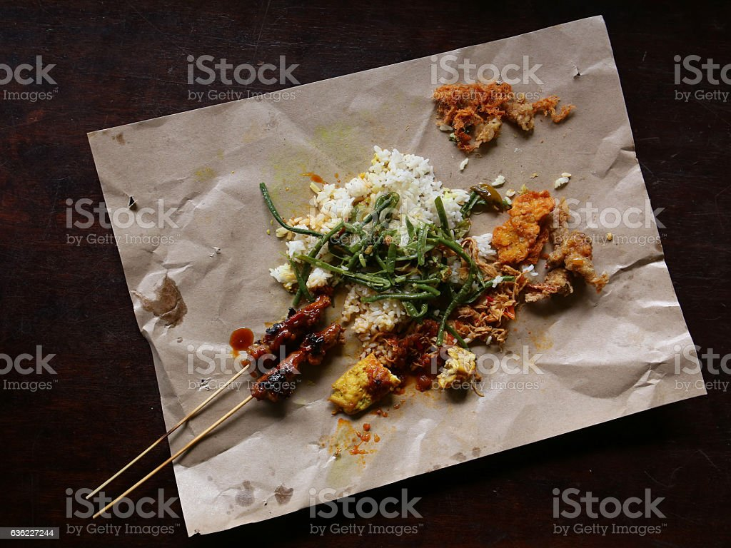 Balinese Street Food Nasi Campur Stock Photo Download Image Now