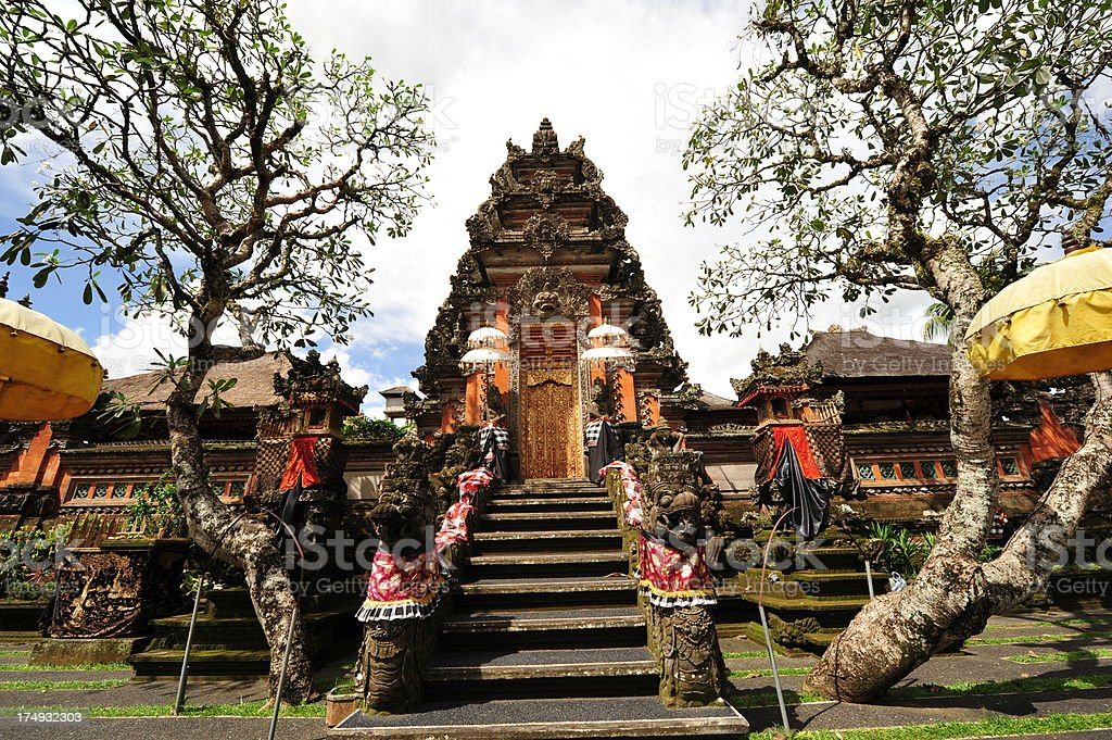 Balinese Temple royalty-free stock photo