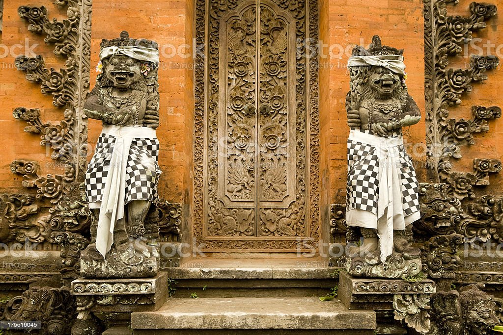 Balinise Ubud Architecture Bali royalty-free stock photo