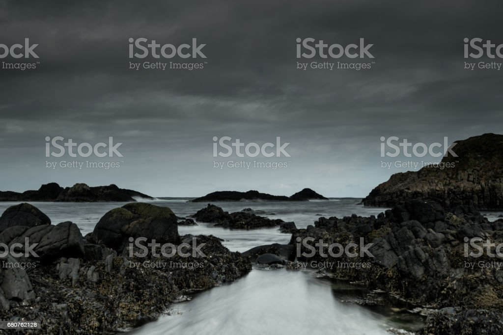 Balintoy Rocks  24-04-2017 stock photo