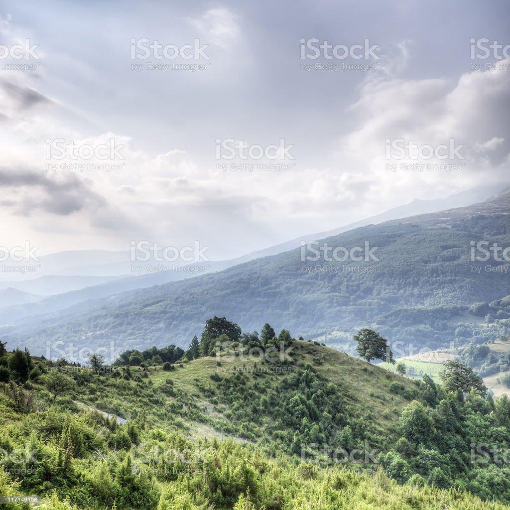 Balkan Landscape royalty-free stock photo
