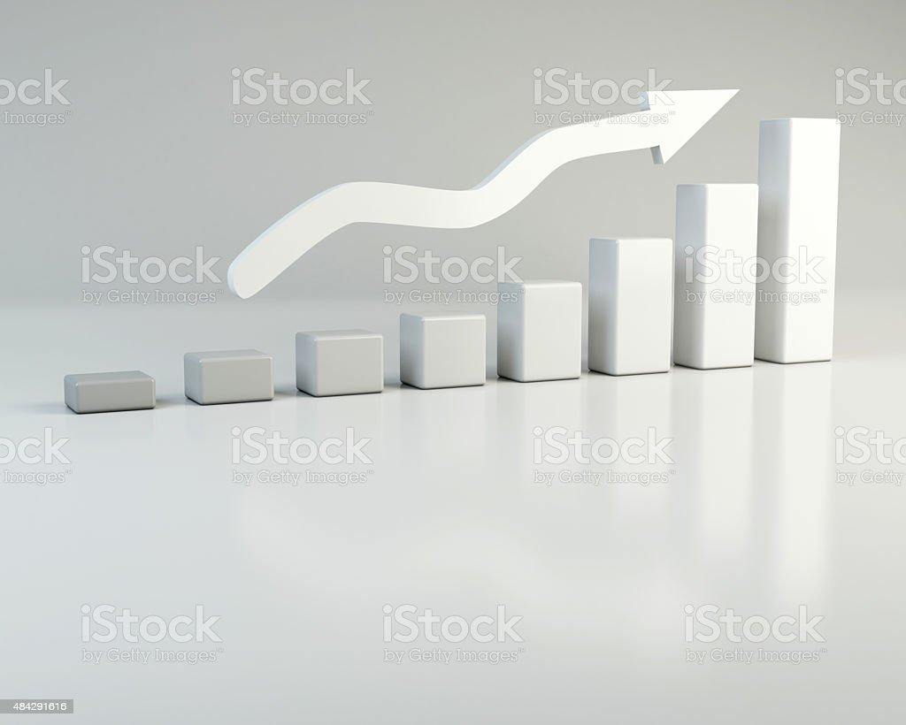 Balken Steigung stock photo