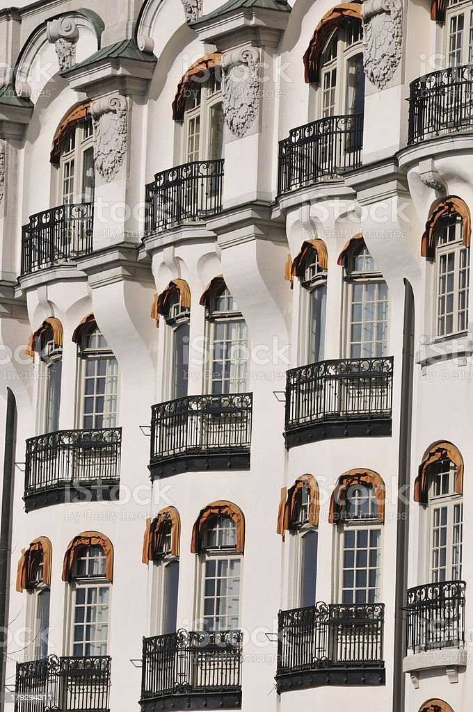 Balkone royalty-free stock photo