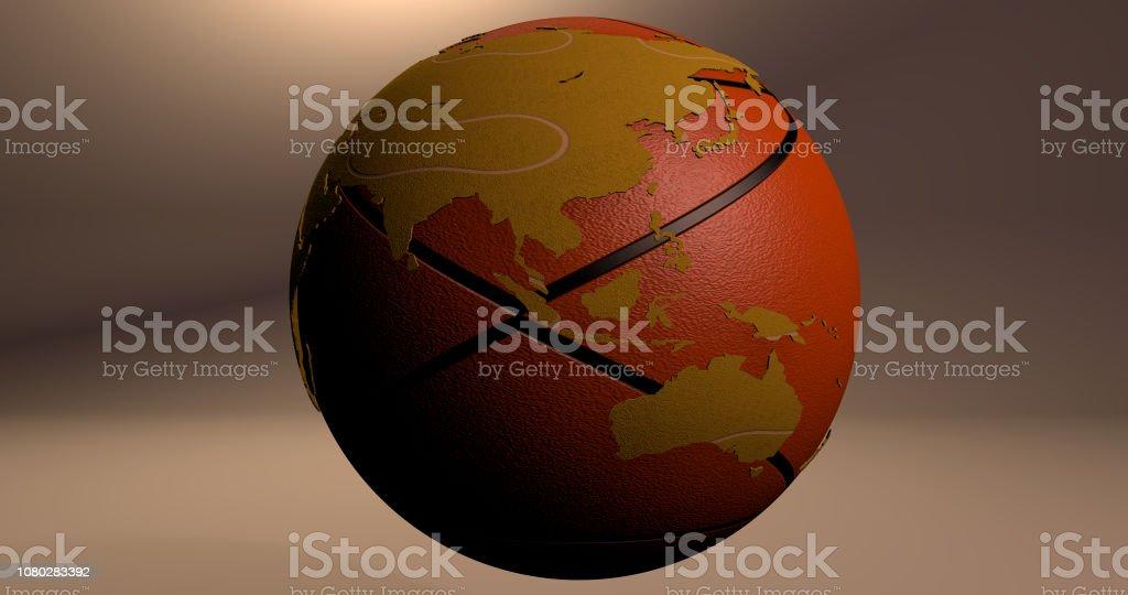 Ball 4 stock photo