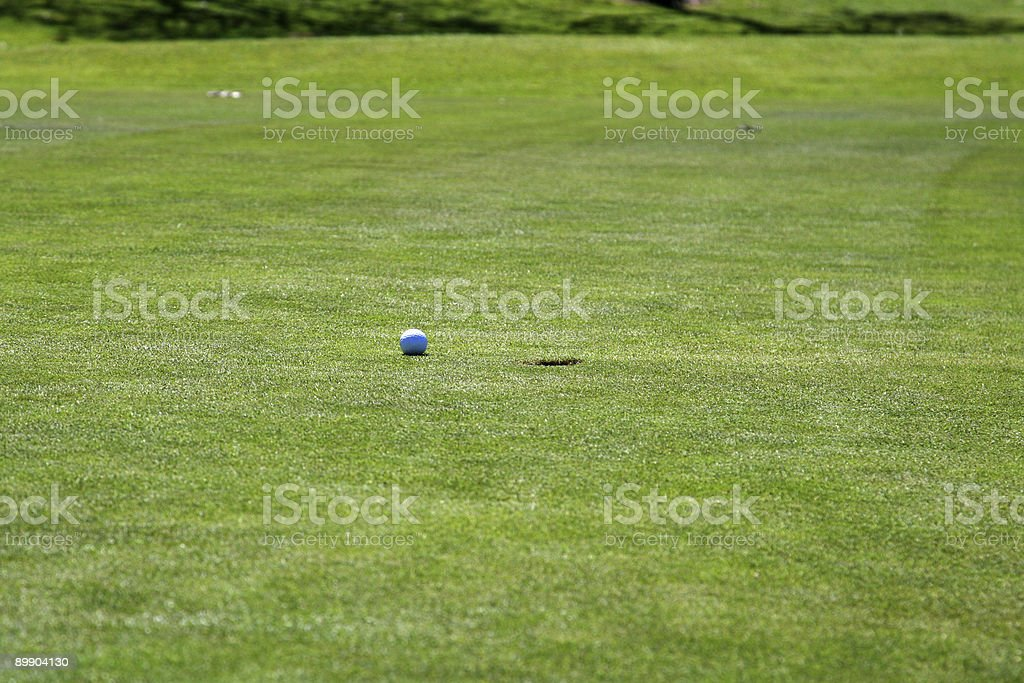 ball and hole royalty-free stock photo