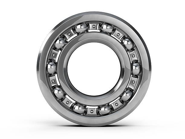 Ball bearing Ball bearing isolated on white background ball bearing stock pictures, royalty-free photos & images