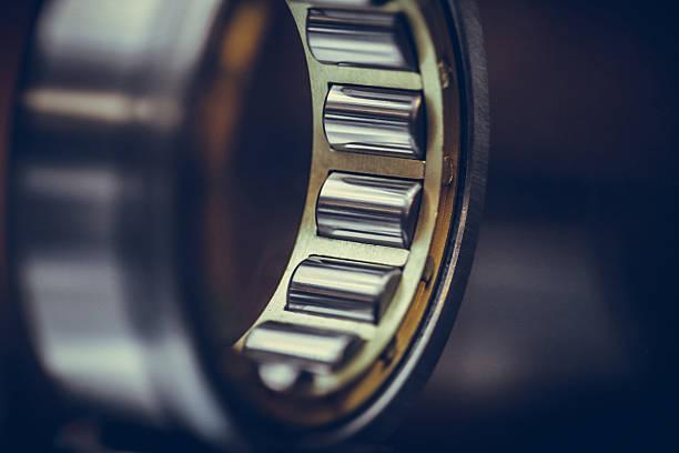 Ball bearings detail Close up shot of a ball bearing. ball bearing stock pictures, royalty-free photos & images