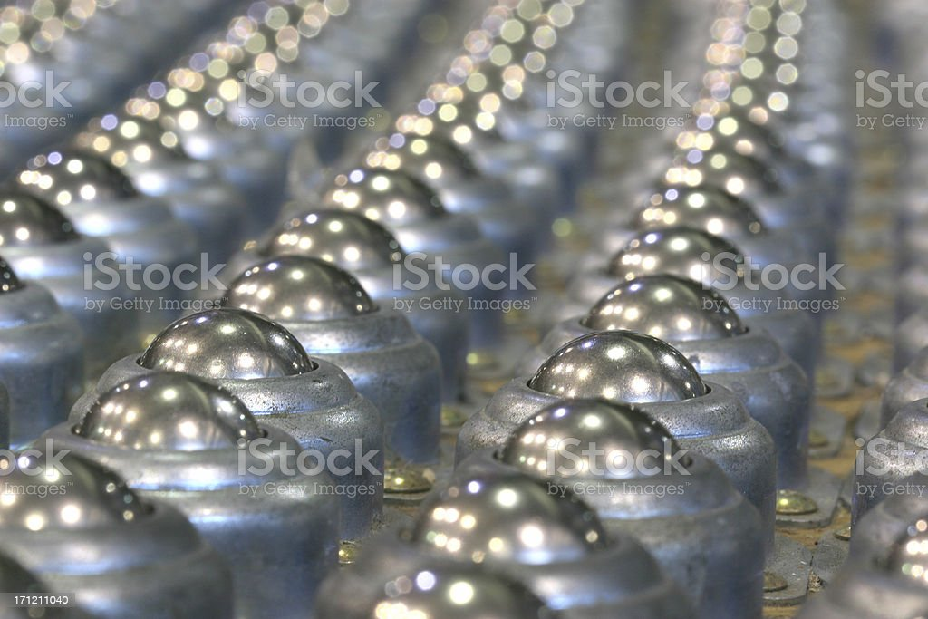 Ball bearings royalty-free stock photo