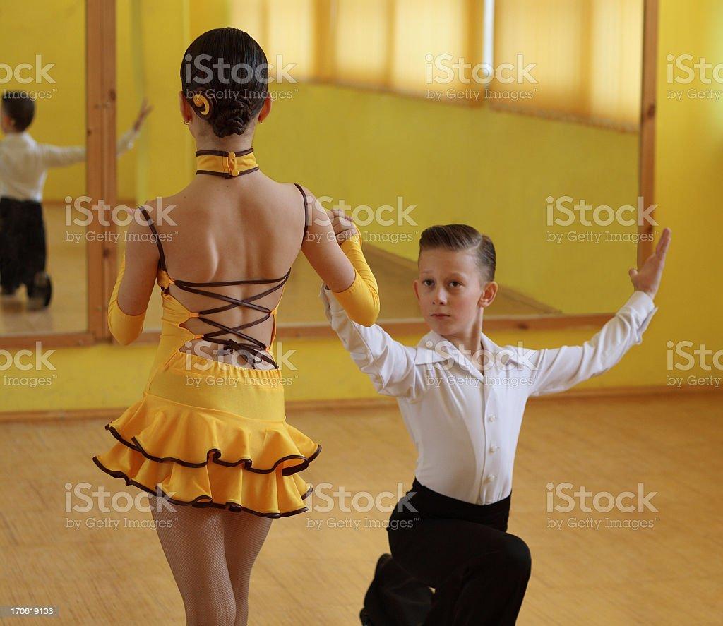 ball dancing royalty-free stock photo