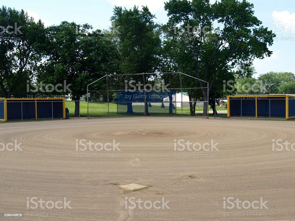 Ball Field stock photo