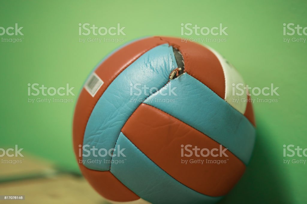 Ball for volleyball stock photo