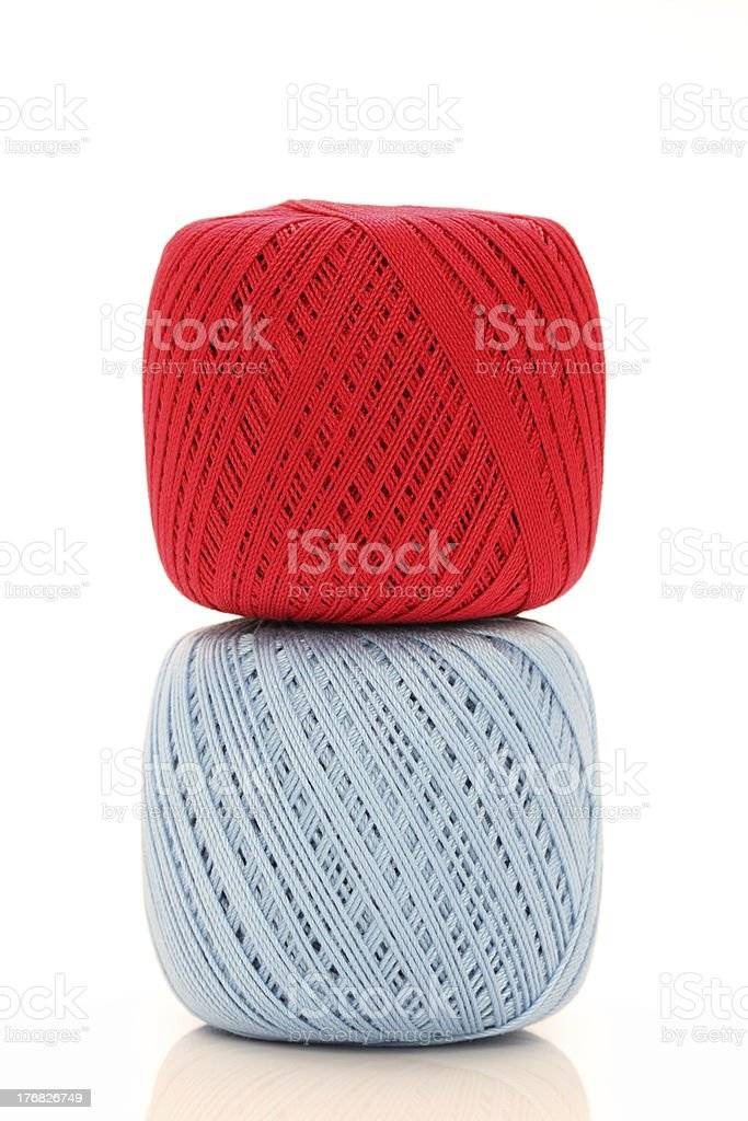 Ball of thread royalty-free stock photo