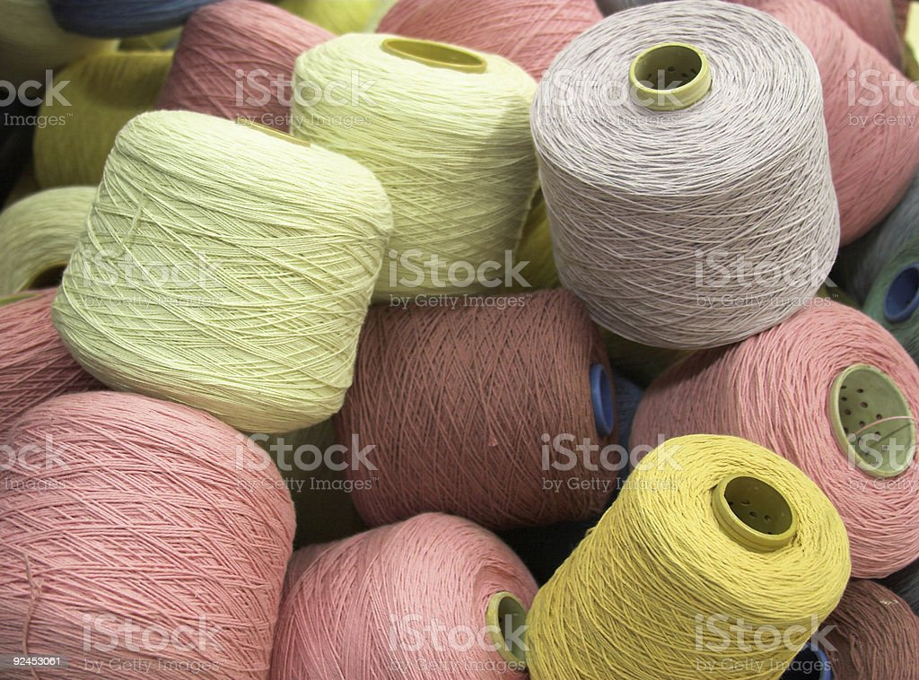 Ball of wool royalty-free stock photo