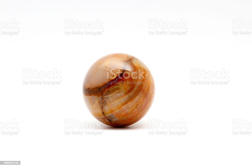 Ball onyx stock photo